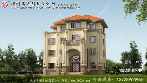 长清区新农村自建房设计