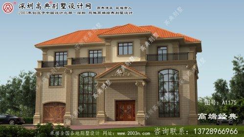 茌平县外观别墅设计