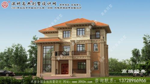 永清县农村别墅房子