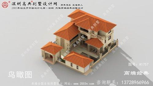 五台县农村层小别墅设计图住农村就是好