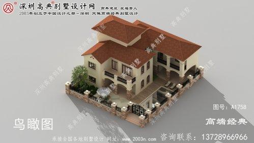 原平市农村别墅院子设计图