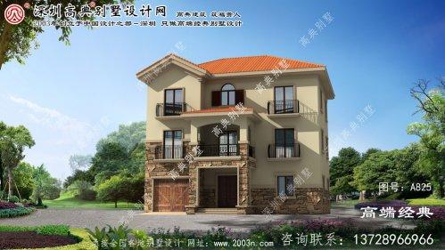 濮阳县简洁别墅设计图