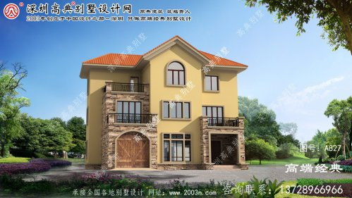 许昌市农村别墅内部设计图