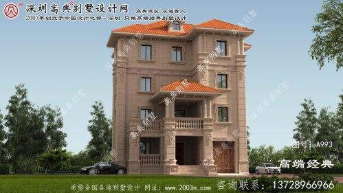 荆州市农村大别墅内部设计图纸