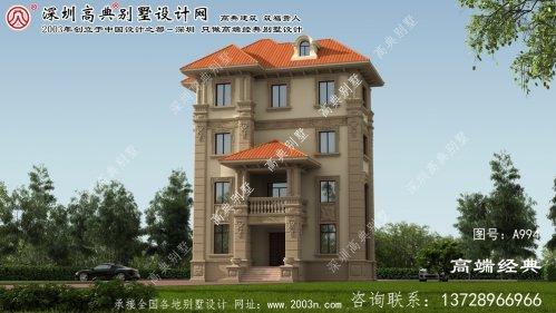 公安县经济型别墅户型图