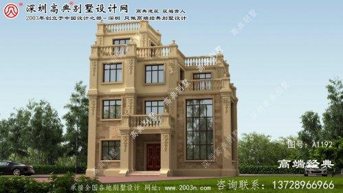 新宁县欧式小别墅图片