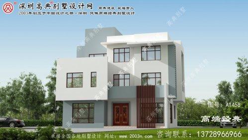 良庆区80平米别墅设计图纸