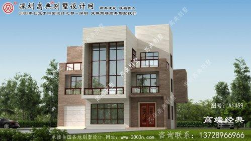 武鸣县大户型别墅设计图纸