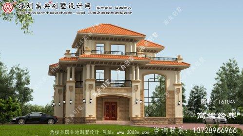 广元市大户型别墅设计图三层