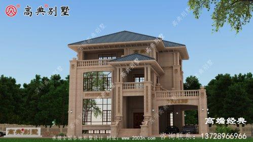 乌当区别墅外景设计
