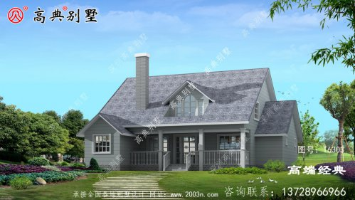 华坪县农场别墅设计图