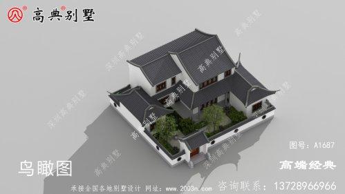 加查县农村建小别墅