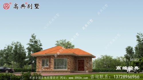 额敏县农村自建房一层设计