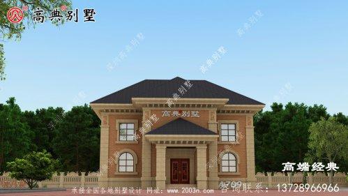 别墅前院设计平面图