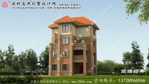 融安县新乡复式住宅别墅设计图纸