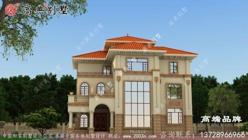 别墅图片图纸超大露台观景完美之家