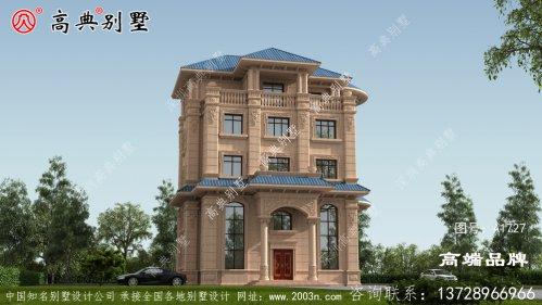 农村自建房效果图大全欧式石材高层别墅