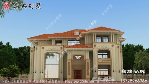 房屋设计图用新颖造型打造个性住所