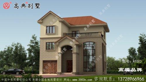 别墅房屋设计图外观都很美,布局也非常好的户
