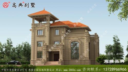 别墅建筑外观设计绝对是富豪级享受