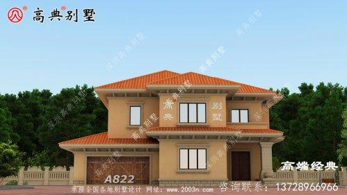 两层别墅图纸,回家盖房用得上。