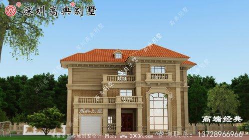 高档三层豪华别墅图片,在家乡成就一道靓丽的风景线