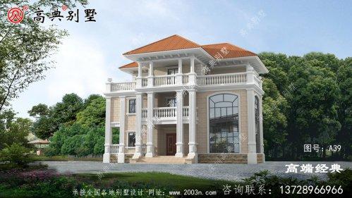 建这样的别墅外观时尚、功能齐全羡煞旁人