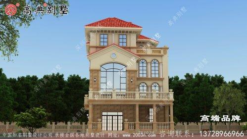 简欧自建房户型图,造价都不高