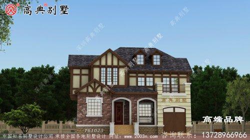 屋面的建造也比较简单,是一款经济型别墅