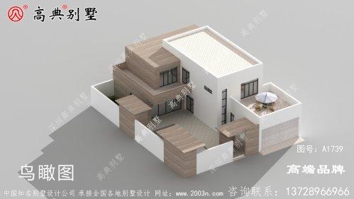 前厅后厨的设计,符合农村传统