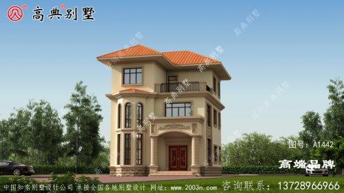 住宅外观简单设计,简约低调的门斗踏实稳重