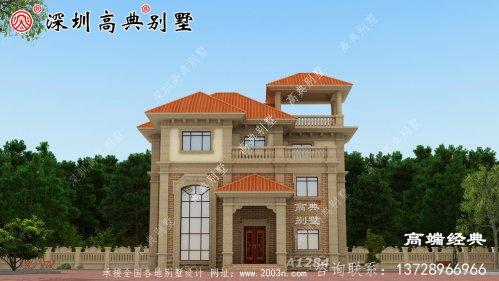 35来万在农村建一套漂亮的房子,里子面子都有了!