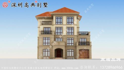 农村自建别墅设计,通透又大气,住着舒服、生活方便