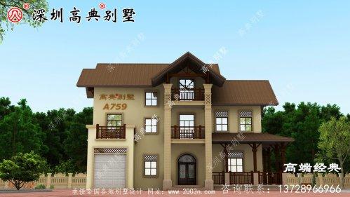 198平米农村房屋设计图,90%的人都喜爱