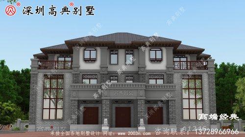乡下三层最简单的小楼,大户型设计图,太动心了!