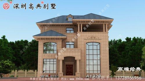 2021年三层豪华别墅,精致典雅,看完搬砖更有力量。