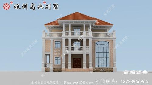 现在农村经济发展得很好,家家户户基本都建上了别墅