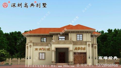 欧式别墅设计正在诠释农村人现在建房的愿望
