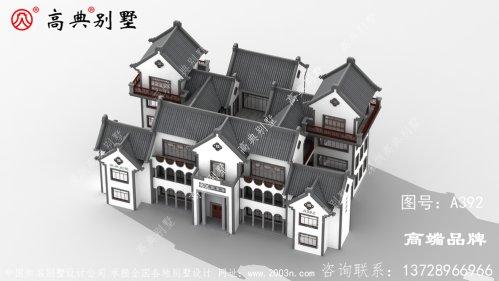 中式庭院别墅是很多在外拼搏的目标