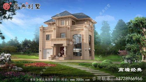 户型通透颜值高,满足许多农村家庭建房标准