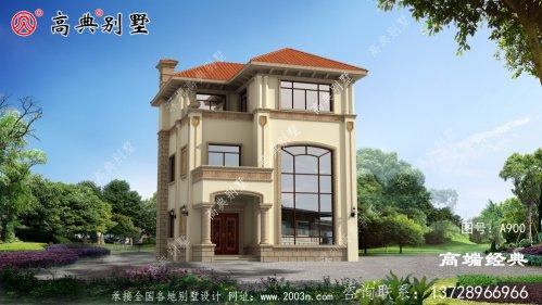 欧式三层别墅,功能齐全、山清水秀,非常适合养老生活。
