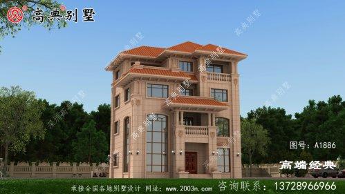 每层都有套房,居住方便这才是别墅的设计精神