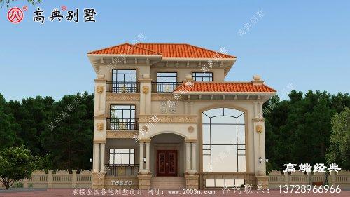 好不容易建一次房,选栋别墅才好看