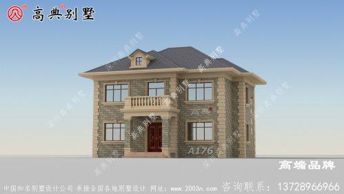 乡村二层别墅设计图,在农村最讨喜的户型